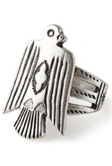 SALE-Vanessa Mooney Eagle Ring - Silver - 6