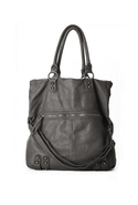 Dylan Folding Tote in Iron Iron Grey