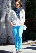 AG Denim Stilt Jean in Highlighter Highlighter Blu