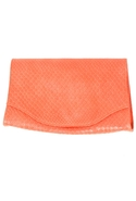 Boa Envelope Clutch in Orange