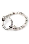 Alamo Silver Ball Bracelet - Silver