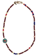 SALEVanessa Mooney Vintage African Glass Bead Neck