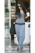 Maxi Dress in Heather Heather Gray Large