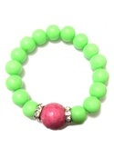 Neon Skins Bracelet - Neon Green
