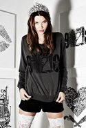 SALE-Lauren Moshi Jet 90210 Pullover Sweatshirt - 