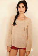 Bailey Sweater in Sand Medium/Large