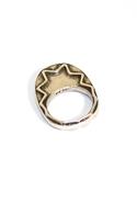 Zig Zag Ring in Silver 5
