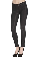 J Brand 901 Legging in Coated Stealth - Coated Ste