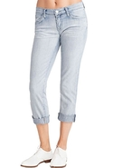 J Brand 9036 Aoki Distressed Cropped Cuff Jean in