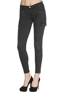 J Brand 1448 The Brix in Vintage Evergreen - Vinta