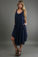 Cable Beach Dress in Navy