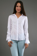 Shirt with Chiffon Back