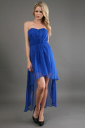 High Low Dress in Princess Blue