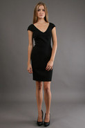 Illusion Sleeve Sheath in Black
