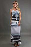 Maxi Dress in Larkspur