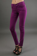 James Twiggy 5 Pocket Legging in Violet
