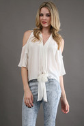 Lucca Blouse in White