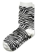 Zebra Trouser Sock
