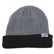 Fold Double Beanie nf00010-black