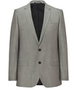 Medium Beige Virgin Wool-Mohair Amaro/Heise Blazer