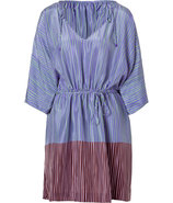 Stripe Dip Purple Iniko Beach Caftan