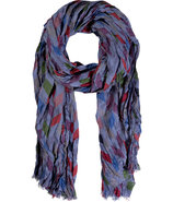 Blue Steel/Multi Scarf