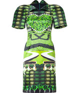 Jade Garden Tea Party Print Dress