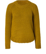 Mustard Knop Yourney Knit Top