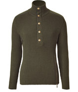 Military Baldwin Turtleneck Pullover