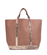 Fidji Sequined Cotton Tote