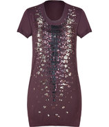 Mulberry Sequined Tee
