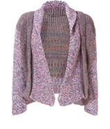 Wisteria-Multi Chunky Knit Open Cardigan