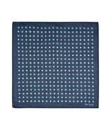 Blue Spot Cotton Hankie