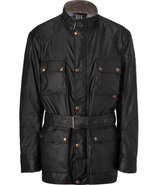 Black Waxed Cotton 4-Pocket Roadmaster Jacket