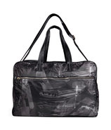 Black Printed Delmar Bag