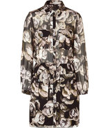 The Tippi Multicolor Floral Silk Dress