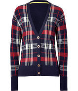 Regal Combo Kings Road Plaid Cardigan