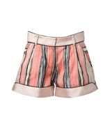 Powder-Multi Striped Shorts