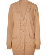 Toffee oversized cardigan