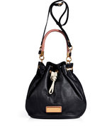Black Multi Embossed Leather Too Hot To Handle Dra