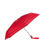Cardamon Red Multicolor MBMJ Logo Umbrella