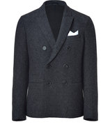 Anthracite Double-Breasted Blazer