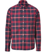 Blanket Red Hopsack William Shirt