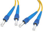 C2G Fiber Optic Patch Cable ST-ST 9/125um