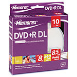 8x DVD+R Double Layer Media (10-pack Spindle/Box) 