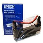 Epson Black/Red Printer Ribbon works with the TM-