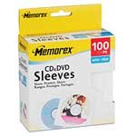 Memorex White CD/DVD Sleeves (100-pack) 32021961