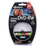 2x 1.4GB Mini DVD-RW Media (20-pack Spindle) 32025