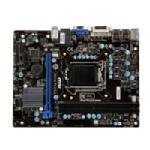 Microstar Motherboard, ATX, Intel H61, 2DDR3