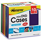 Mini DVD Color Cases, 10-Pack 32021996